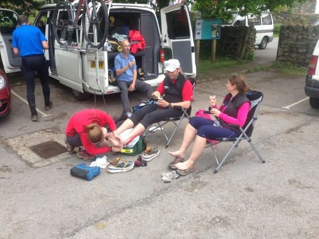 Ice Cream in Borrowdale with Foot Inspection - Photo Ant