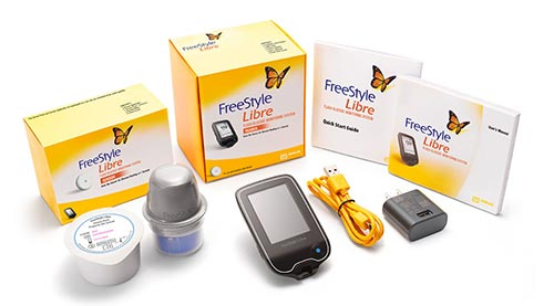 Abbott Freestyle Libre Flashy Glucose Monitor How Fast