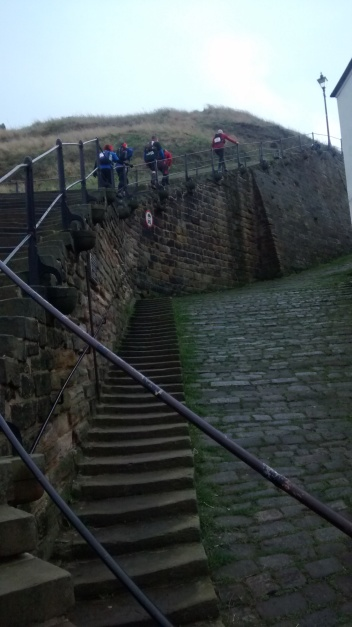 The Steps out of Whitby