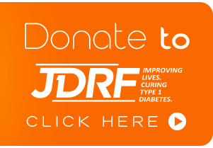 onate to JDRF: Improving Lives. Curing Type 1 Diabetes
